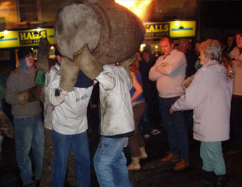 Tar Barrels of Ottery St Mary